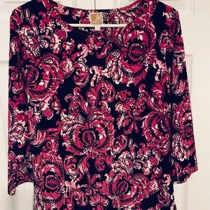 Women's Size Medium Multicolored Top